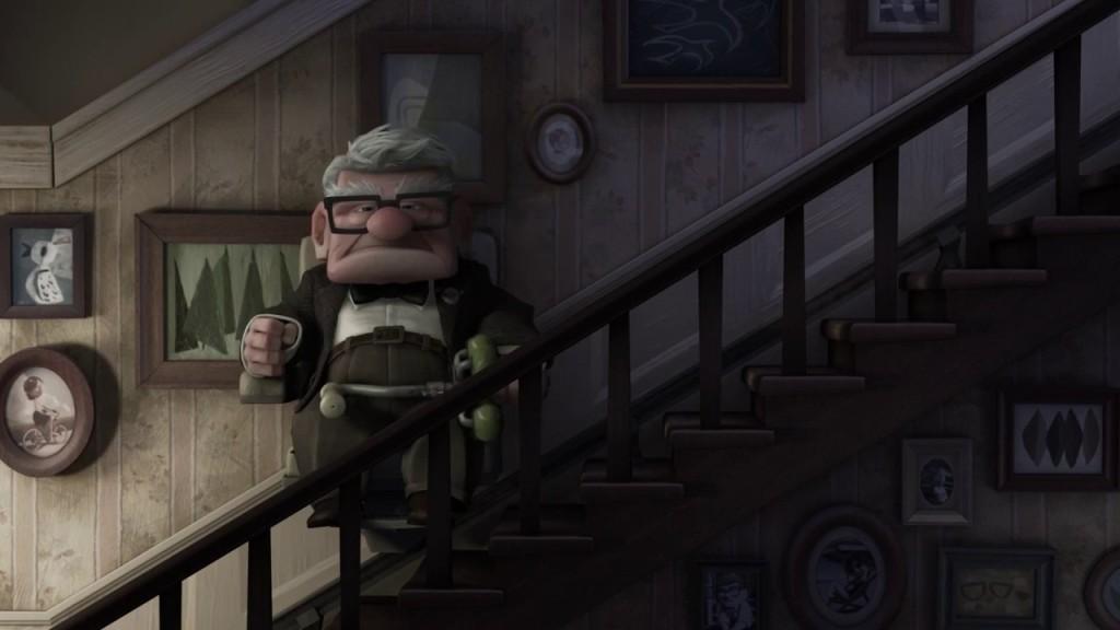 """Scene uit de animatie film """"Up""""."""